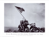 Flag Raising on Iwo Jima, February 23, 1945 Prints by Joe Rosenthal
