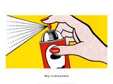 Spray, 1962 Plakat af Roy Lichtenstein