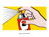 Spray, 1962 Poster von Roy Lichtenstein