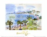 La Promenade Des Anglais Affiches par Raoul Dufy