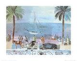Promenade a Nice Affischer av Raoul Dufy