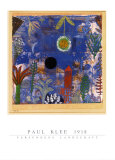 恍惚の風景 1918 ポスター : パウル・クレー