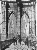 Brooklyn Bridge, 1886 Posters af H. Armstrong Roberts