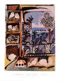 Les pigeons Affiches par Pablo Picasso