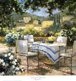 Tuscany Terrace Print by Allayn Stevens