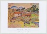 Riviere Print by Raoul Dufy