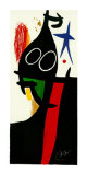 Sarrazin a l'Etoile Bleue Print by Joan Miró
