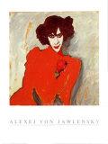 Bildnis Alexander Sacharoff Art by Alexej Von Jawlensky
