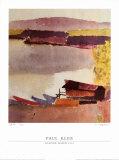 Kleiner Hafen, 1914 Plakat af Paul Klee