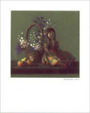 Still Life with Doll Print by Rozsika Hetyei-Ascenzi