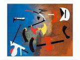 Joan Miró - Peinture Composition - Poster