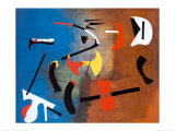 Peinture Composition Art by Joan Miró