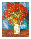 Mohnblumen, 1886 Póster por Vincent van Gogh