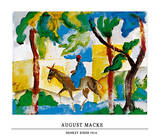 Donkey Rider Posters by Auguste Macke