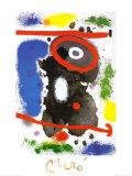 Head Prints by Joan Miró