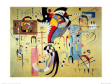 Milieu Accompagne Poster van Wassily Kandinsky