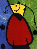 Daybreak Tagesanbruch, 1968 Poster af Joan Miró