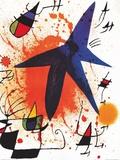 L'Etoile Bleu ポスター : ジョアン・ミロ