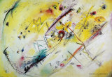 Helles Bild, 1913 Prints by Wassily Kandinsky