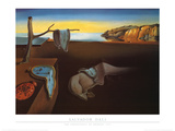 Persistence of Memory Prints by Salvador Dalí