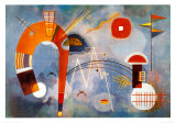 Rond et Pointu, c.1939 Prints by Wassily Kandinsky