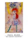 Mit grünen Strümpfen, 1939 Poster von Paul Klee