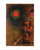 Aufleuchten Prints by Wassily Kandinsky
