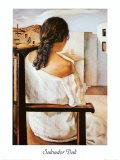 Muchacha de Espalda Prints by Salvador Dalí