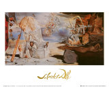 The Apotheosis of Homer Plakat av Salvador Dalí