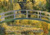 The Japanese Bridge ポスター : クロード・モネ
