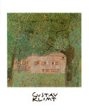 Farm House in Northern Austria Poster by Gustav Klimt