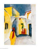 Bazar, 1914 Prints by Auguste Macke