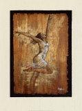 La danse de la joie I Art par Monica Stewart