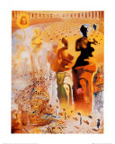 The Hallucinogenic Toreador, c.1970 Láminas por Salvador Dalí