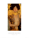 Judith I Posters av Gustav Klimt
