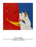 風景1924-25 ポスター : ジョアン・ミロ