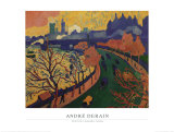 Pont de Charing Cross Prints by Andre Derain