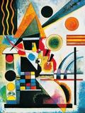Wassily Kandinsky - Balancement Obrazy