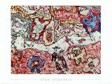 Calipette Plakater av Jean Dubuffet