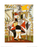 Femme Au Jardin Posters by Pablo Picasso