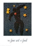 Hommage à Matisse: l'art de la gastronomie Poster par Ryan Rossler