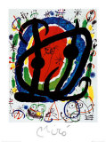Exposition XXII Salon Print by Joan Miró
