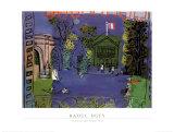 Nogent Sur Seine, 1934 Art by Raoul Dufy
