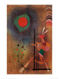 Aufleuchten Posters by Wassily Kandinsky
