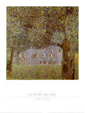 Oberosterreichisches Bauernhaus, 1911-12 Pôsters por Gustav Klimt