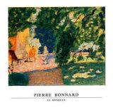 Schattiges Plätzchen Poster von Pierre Bonnard