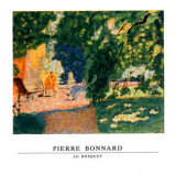 Bosquet Poster por Pierre Bonnard