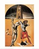 Poesie d'Amerique Print by Salvador Dalí