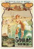 Soulac sur Mer Affiches par Eugène Boudin