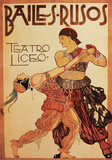Bailes-Rusos Prints by  Unknown